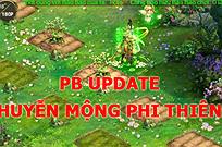 [Công Cáo] UPDATE PB Huyễn mộng Phi Thiên